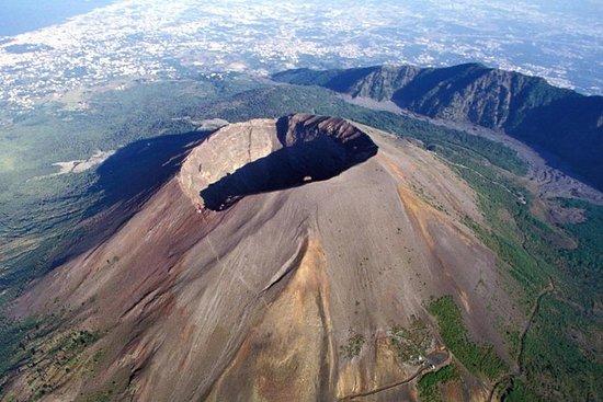 Vesuvius en Pompeii met gids