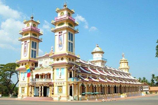 胡志明市的Tay Ninh和Cu Chi隧道一日游
