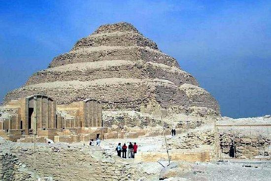Sakkarah, Memphis og Gizah pyramider