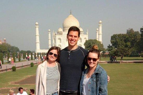 Delhi au Taj Mahal et retour de...