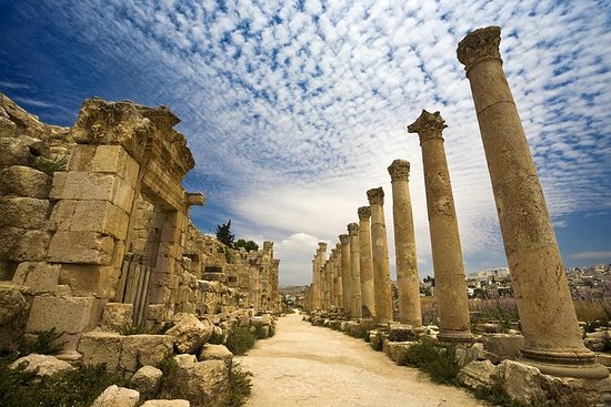 Privat halvdag Jerash och Amman ...