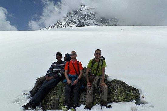 Trek de neige au Cachemire