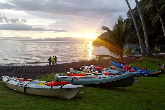 Cross Golfo Dulce living the adventure, Kayak Camping 2 Days 1 Night