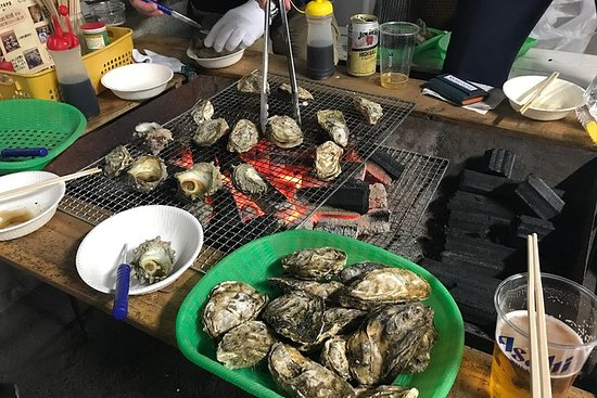 Oyster splendid seafood gourmet & sea bream fishing experience! Day...