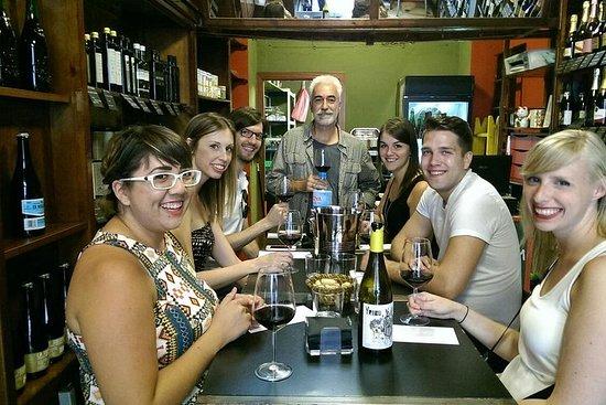 Degustazione di vini privati con