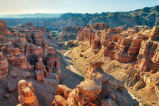 Advantures in Charyn Canyon. Fotografie