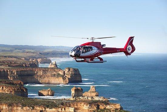 直升机飞行+美食私人豪华大洋路之旅