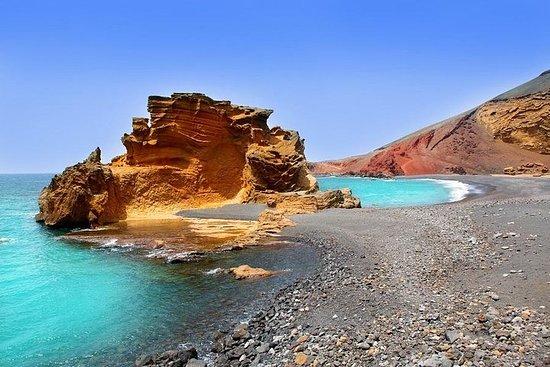 Visita a Timanfaya, Lagoa Verde e La...