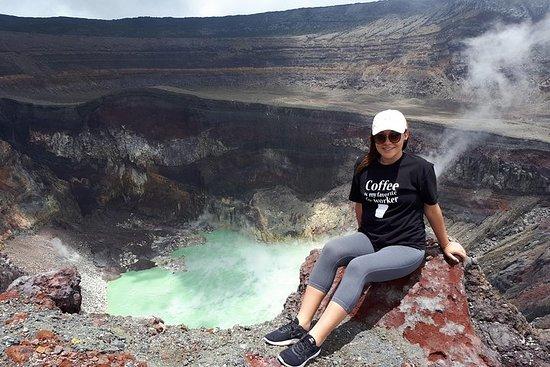 Randonnée sur le volcan Ilamatepec...
