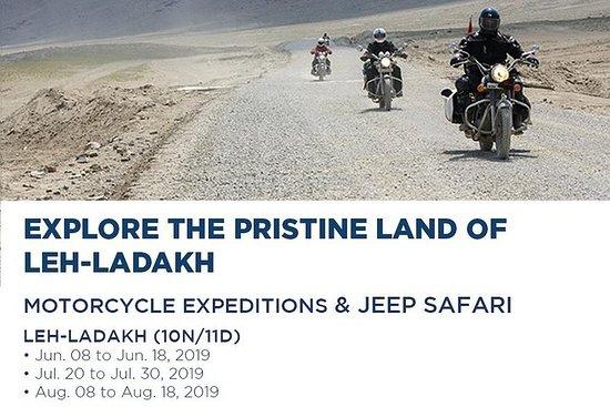 Expédition en moto Leh-Ladakh et...