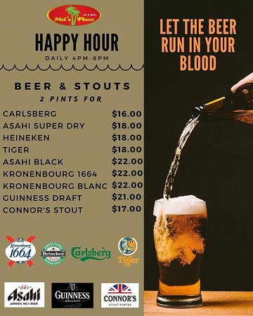 Beer Happy Hour Promotion
