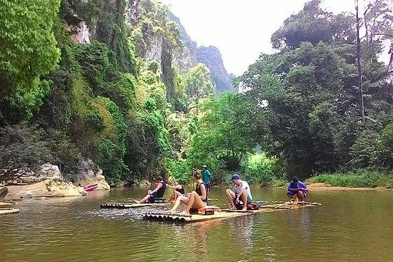 Heldags Khao Sok Nationalpark-tur fra Krabi med bambusafting og...
