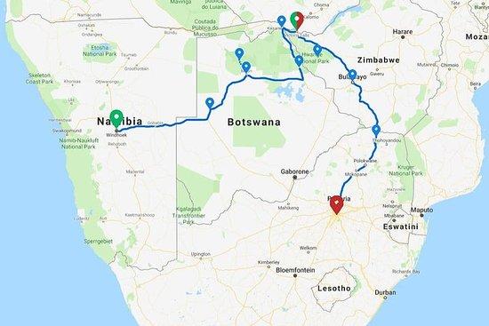 14 Days Okavango Delta & Victoria Falls to Johannesburg Accommodated Adventure 사진