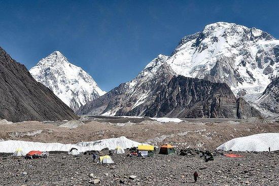 Trek de cinq camps de base de 8 000 m