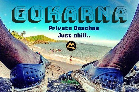 Gokarna Chill, Camping particular na praia, Cataratas de Vibhooti...