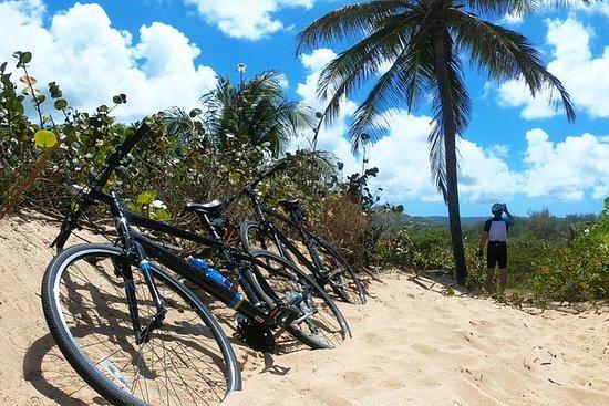 Tour de l'île à vélo
