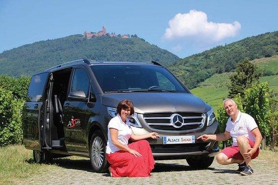 Tour ICONICS : 1/2 Journée sur la Route des vins, visite de 3...