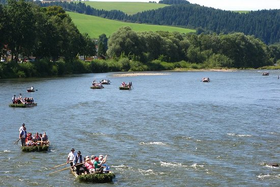 Rafting the Dunajec River Gorge in Southern Poland, private tour from...