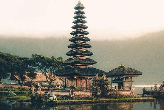 Quad Bali, VTT, temple du lac Bedugul...
