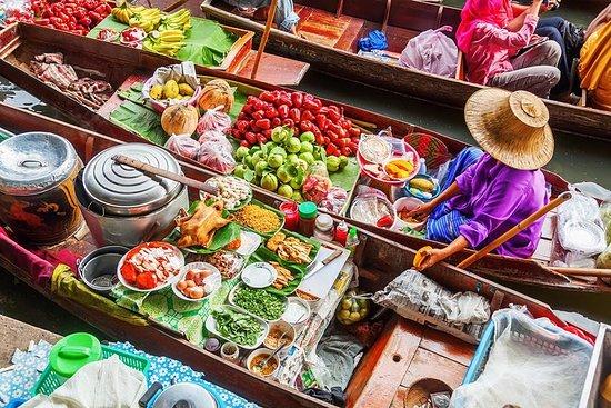 Visite du marché flottant d'Amphawa