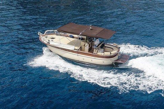 從索倫托出發的卡普里島和波西塔諾私人遊船(7/8小時)