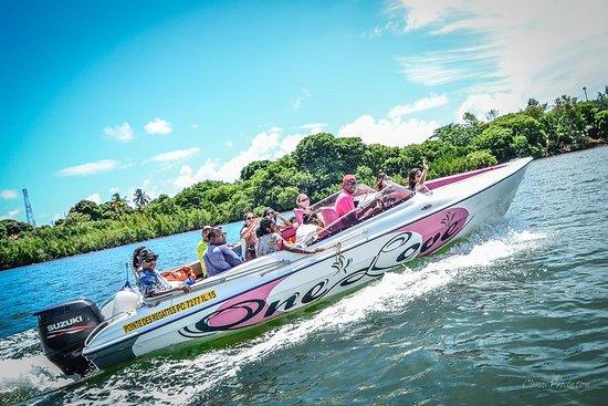 Mauritius Speedboot-Fahrt von Pointe...