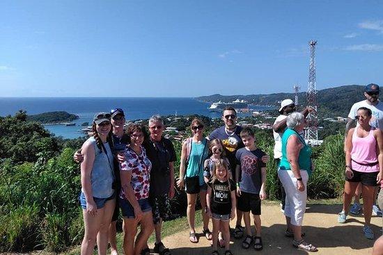 Tour de l'île à Roatan