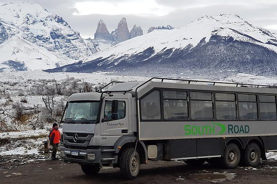Full Day Torres Del Paine Winter Overland Truck