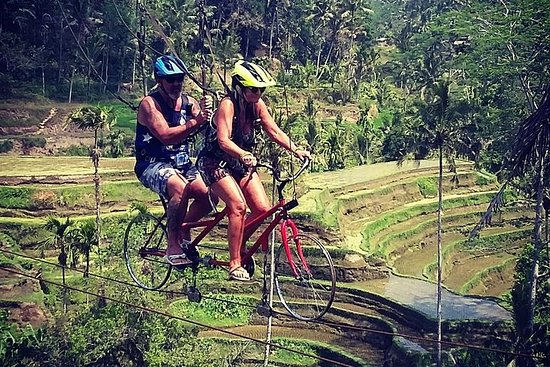 New adventure UBUD SKY BIKE, RICE...