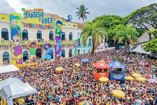 Vacaciones de carnaval en Olinda