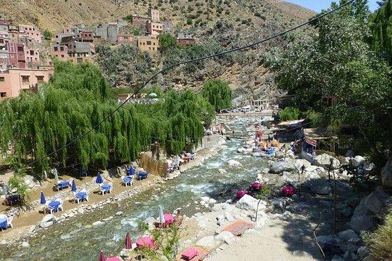 Marrakech til Setti Fatma Ourika Valley...
