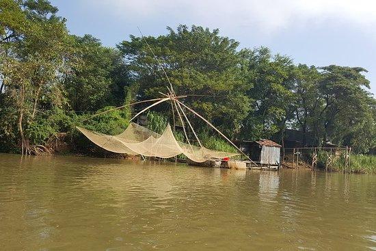 湄公河的秘密部分:蔡贝村和薛eo森林1天
