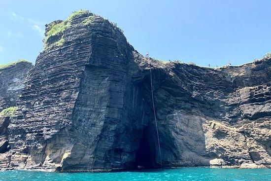 Rappelling Pirate Cave Lorencillo
