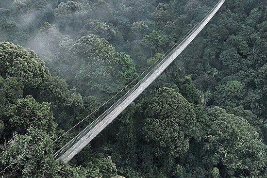 Pont suspendu de Sukabumi de Bandung