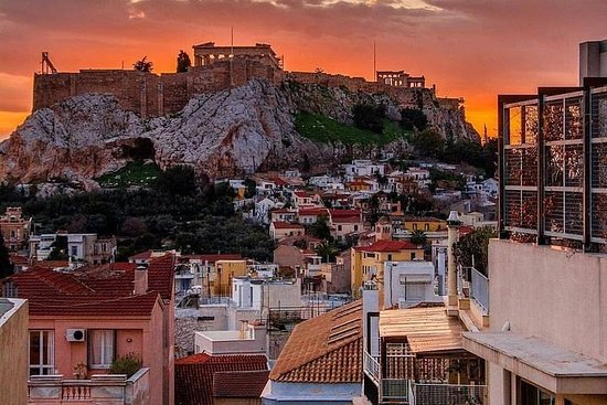 Insta-tour In Memorabel Athene Foto