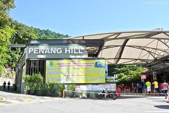 Panaromic Penang Evening Tour met Penang Hill (Fast Lane) & Steamboat Dinner Foto