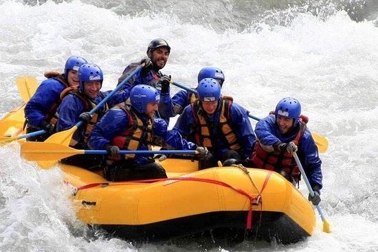 White water rafting in Mendoza. Live...