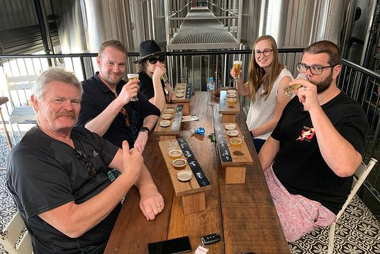 Quickie on the Coast Half Day Brewery Tour