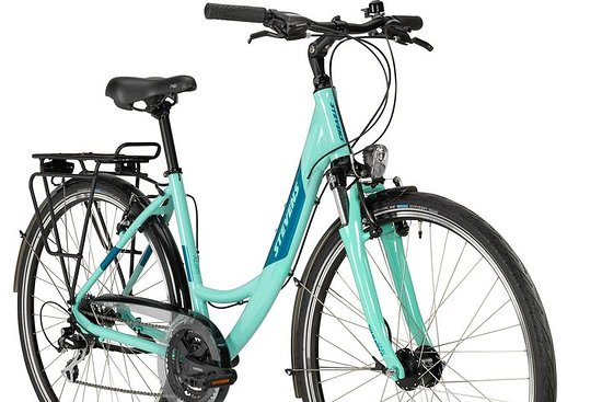 Alquile una bicicleta de la ciudad