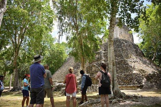 1-dagers tur Kohunlich + Maya-byer med sertifisert guide