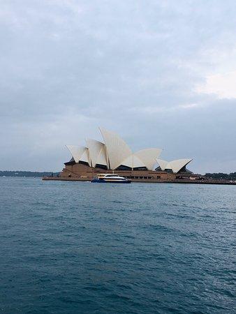 Belle promenade le long de la baie de Sydney ...