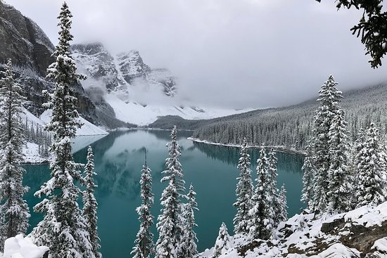 Lac Louise et la Promenade des glaciers...