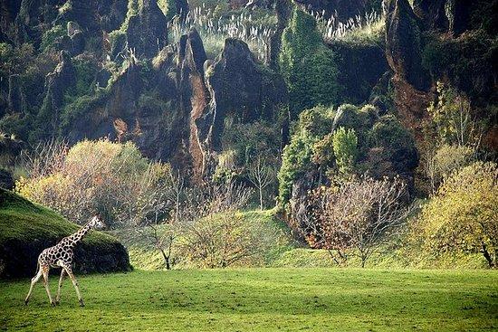 Entrée au parc naturel de Cabárceno