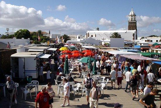 Teguise Street Market from Playa Blanca and Puerto Del Carmen