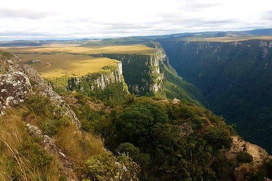 Canyons Itaimbezinho, Fortaleza et plus: visite privée de Porto Alegre