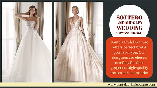 Lincolnwood, IL: Sottero and Midgley Wedding gowns Chicago is well known for services at https://dantelabridalcouture.com/soterro-and-midgley-wedding-dresses/  Western wear is considered as the most proper clothing for any events. These reflect rich social legacy, yet additionally, help in offering in vogue looks. Wedding dress shops originator assortment is flawless to wear on the most breathtaking just as the typical events.