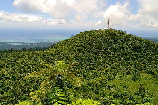 Tres picos de Upolu