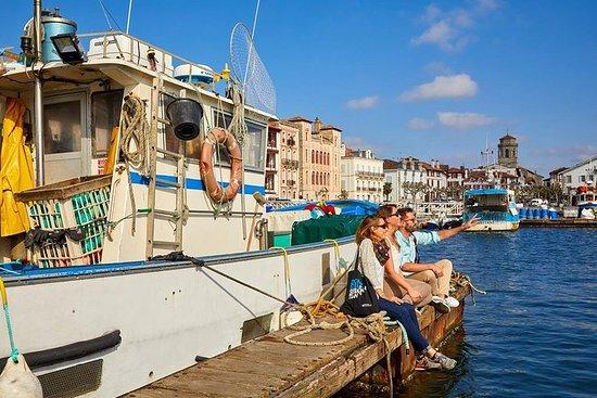 Biarritz og fransk baskisk kyst liten gruppe tur, lunsj inkludert