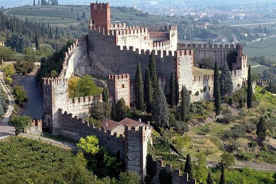 Tour guidato di Castel Soave da Verona