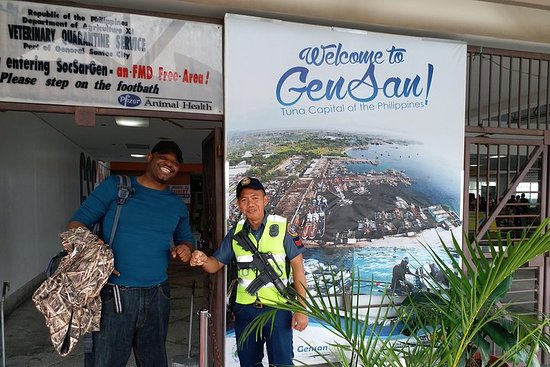 General Santos, Filippinerne Tour